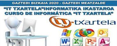 Curso de Informática IT TXARTELA