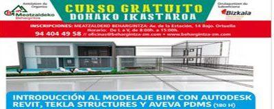"""Curso """"Introducción al Modelaje BIM con AUTODESK REVIT, TEKLA STRUCTURES y AVEVA PDMS"""""""